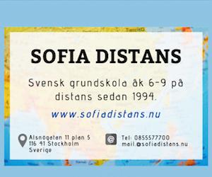 Annons Sofia Distans