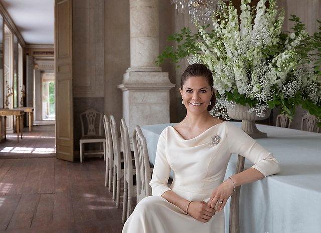 H.K.H. Kronprinsessan Victoria; Foto: Elisabeth Toll; Copyright Kungl. Hovstaterna